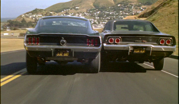Bullitt-car chase