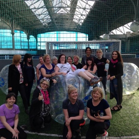 Bubble Football Edinburgh