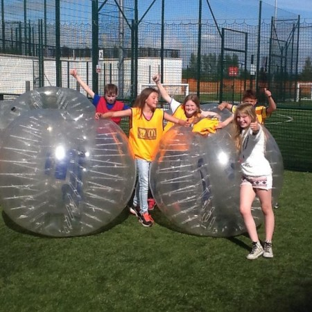 Bubble Football Manchester, Centre