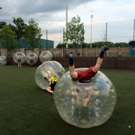 Bubble Football Trafford, Manchester