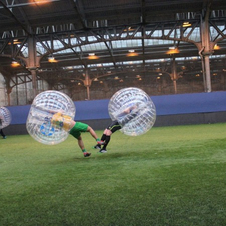 Bubble Football Stevenston, North Ayrshire
