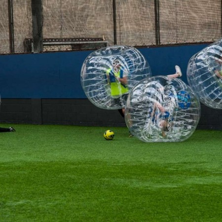 Bubble Football Pollockshaws, Glasgow