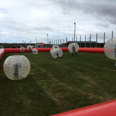 Bubble Football Clutton, Nr Chester