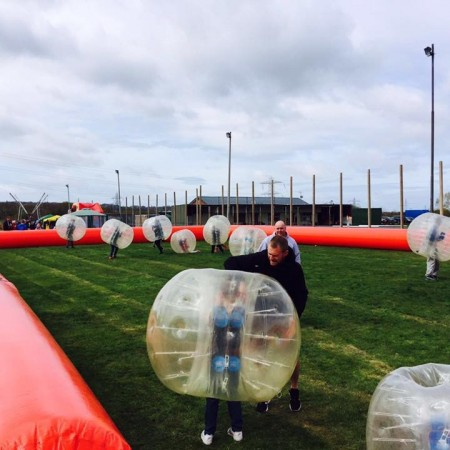 Bubble Football Seaford, East Sussex