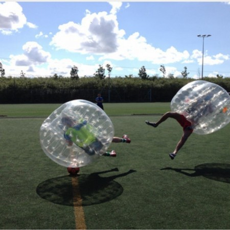 Bubble Football Ossett, West Yorkshire