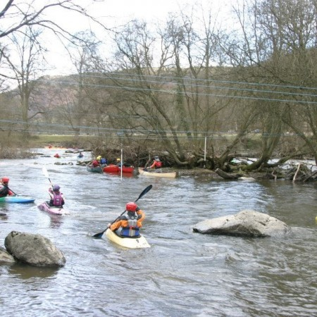 Kayaking Llangollen