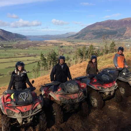 Quad Biking Keswick, Cumbria