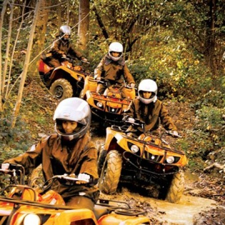 Quad Biking Bassetts Pole