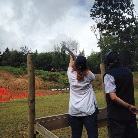 Clay Pigeon Shooting Enstone, Chipping Norton
