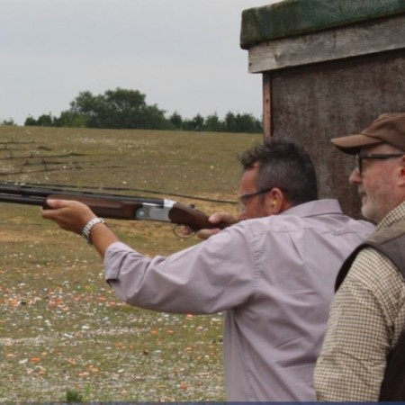 Clay Pigeon Shooting Bawdeswell, Norfolk