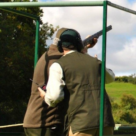 Clay Pigeon Shooting Bromham, Wiltshire
