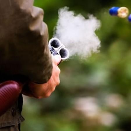 Clay Pigeon Shooting Tapnell Farm, Isle Of Wight