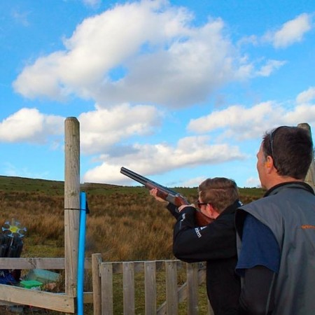 Clay Pigeon Shooting Blairmore, Nr Dunoon