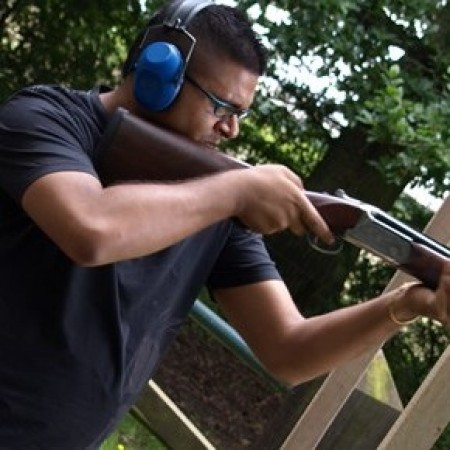 Clay Pigeon Shooting Winchester, Hampshire