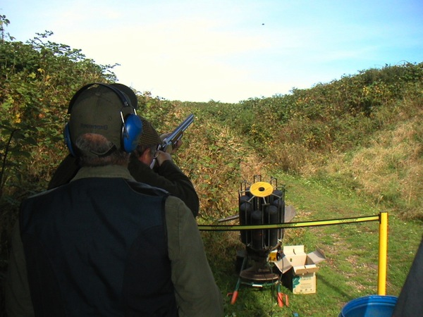 Clay Pigeon Shooting Hertford, Hertfordshire