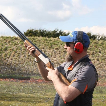 Clay Pigeon Shooting Riseley, Bedfordshire