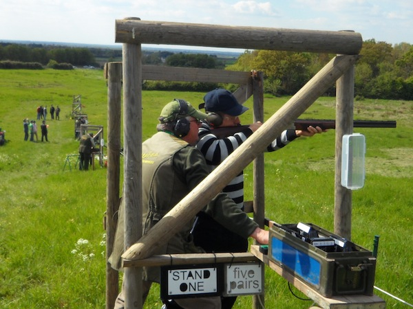 Clay Pigeon Shooting Oxford