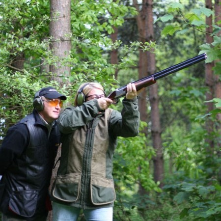 Clay Pigeon Shooting Eccles, Nr Manchester