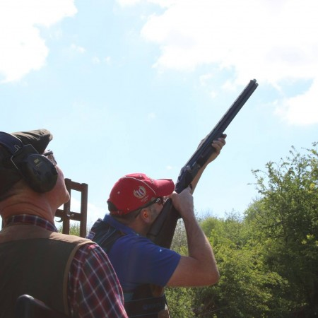 Clay Pigeon Shooting Yeaveley, Derbyshire