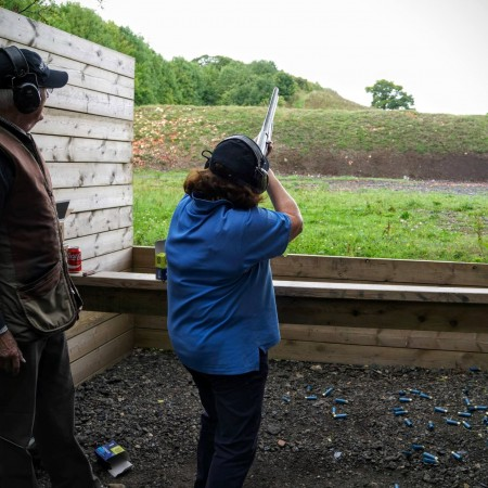 Clay Pigeon Shooting Markyate, Hertfordshire