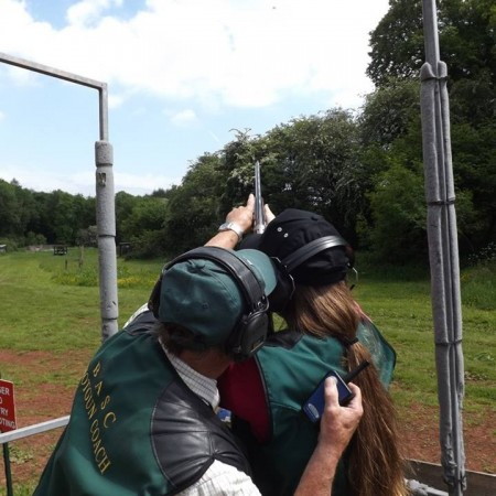Clay Pigeon Shooting Lydney, Gloucestershire