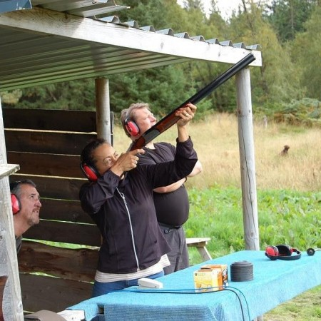 Clay Pigeon Shooting Newtonmore, Invernesshire