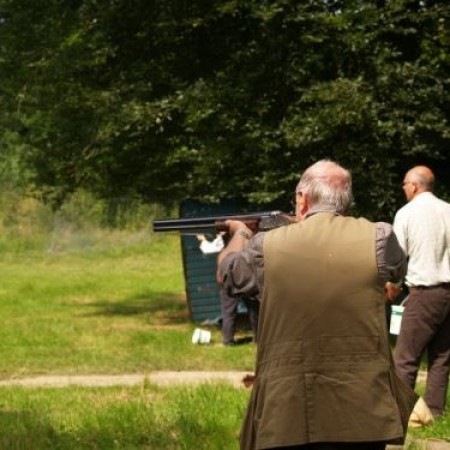 Clay Pigeon Shooting Thornicombe, Dorset
