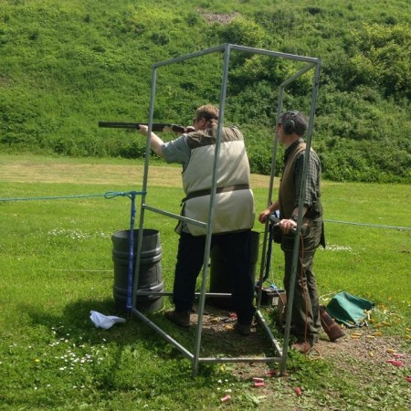 Clay Pigeon Shooting Auchterhouse, Dundee
