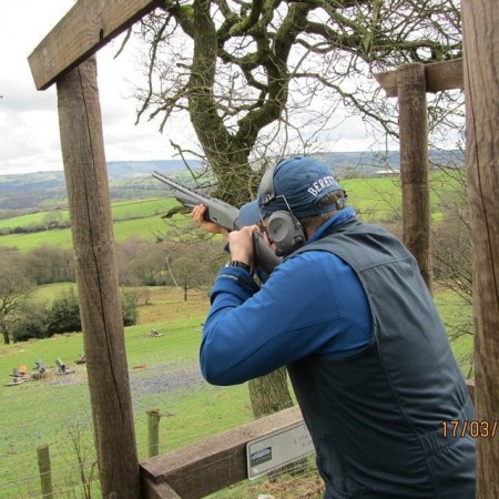 Clay Pigeon Shooting Congleton, Cheshire