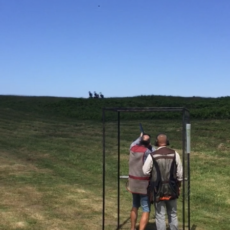Clay Pigeon Shooting Gower, Nr Swansea