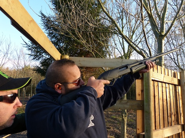 Clay Pigeon Shooting Lount, Leicestershire